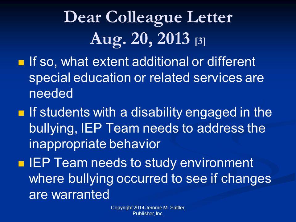 Dear Colleague Letter Aug. 20, 2013 [3]